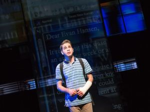 Ben Platt in 'Dear Evan Hansen.'