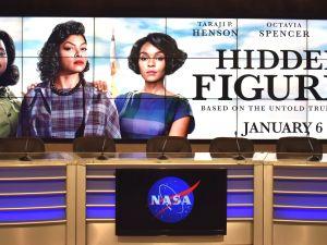 NASA's media center features Hidden Figures.