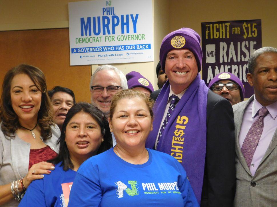 SEIU 32BJ Endorses Murphy in 2017 N.J. Gubernatorial Race