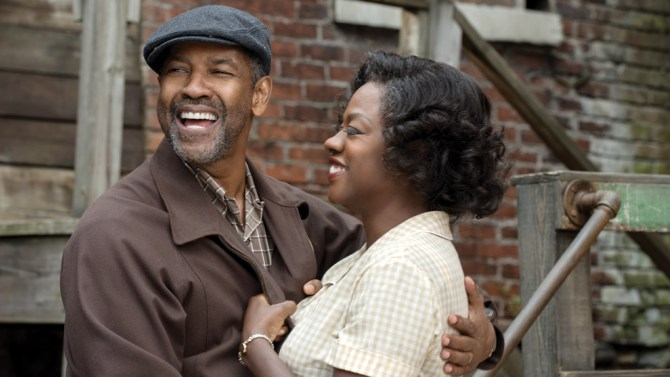 In 'Fences,' Denzel Washington and Viola Davis Lead the Year's Best Ensemble