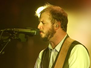 Justin Vernon of Bon Iver. (Photo by )