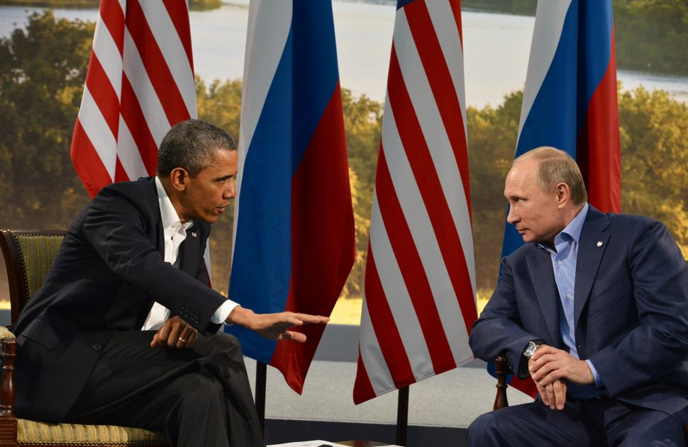 Barack Obama Slaps Russia With New Sanctions and Expulsions Over Election Hacking