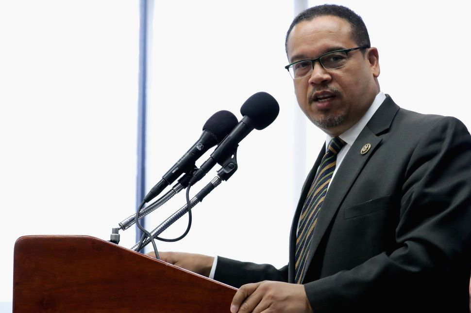Sanders Supporters Withhold DNC Donations Unless Ellison Is Elected