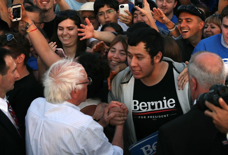 Sanders Supporters Gain Some Ground Against Hostile Democratic Party