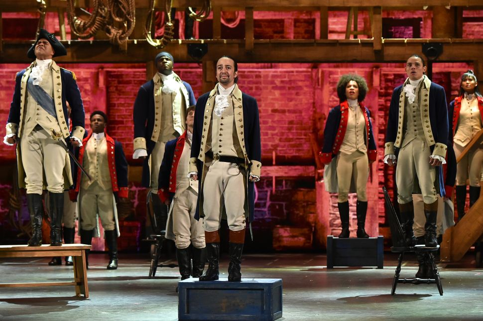 It's a Broadway Miracle: There Is a Way to See 'Hamilton' for Free
