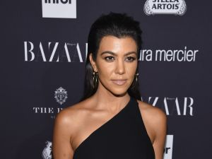 Kourtney Kardashian's Christmas decorations include a total of five trees.