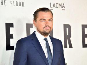 Leonardo DiCaprio at LACMA on October 24, 2016.