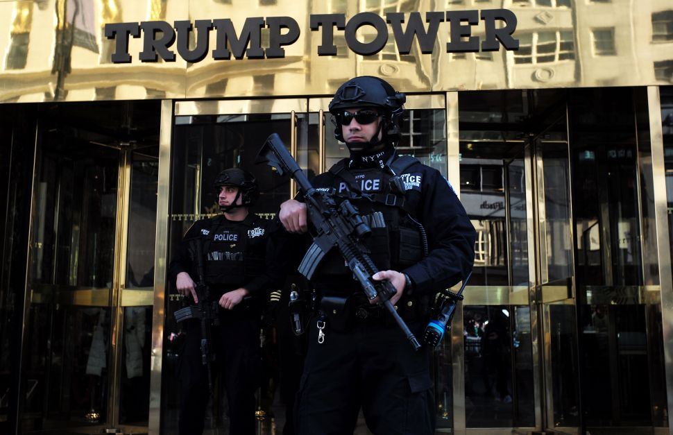 Protecting Trump Tower 'Taking Resources From Around the City,' NYPD Commissioner Says