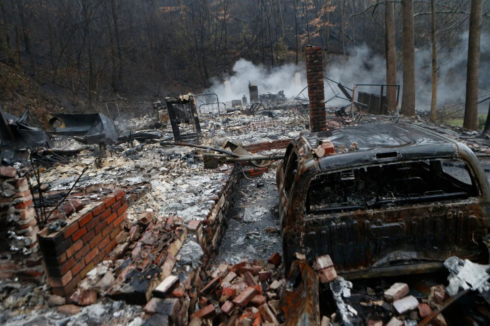 Giant Gatlinburg-Sized Wildfires May Be the New Normal
