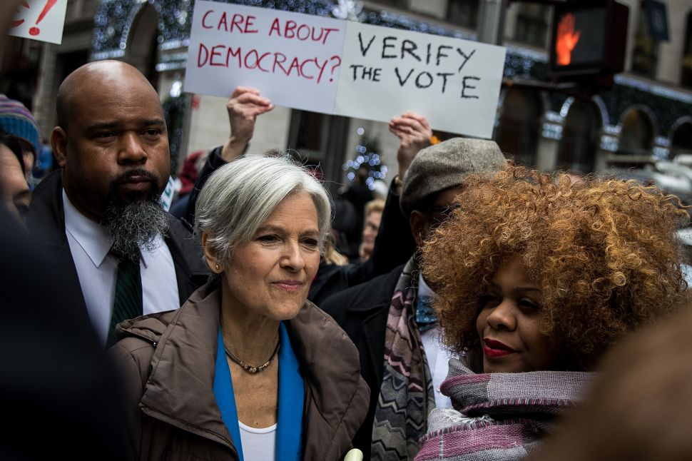Democrats Now Bemoaning Jill Stein Votes in Key States