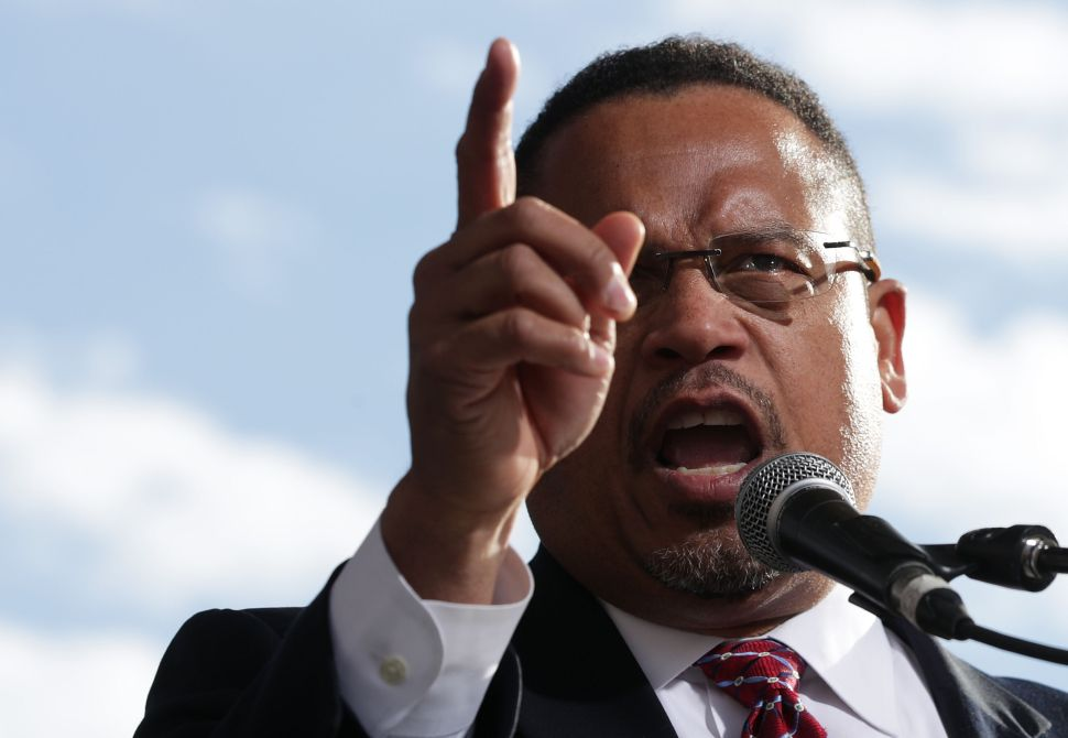 Keith Ellison Abandons Sanders Supporters to Back Wealthy Donor