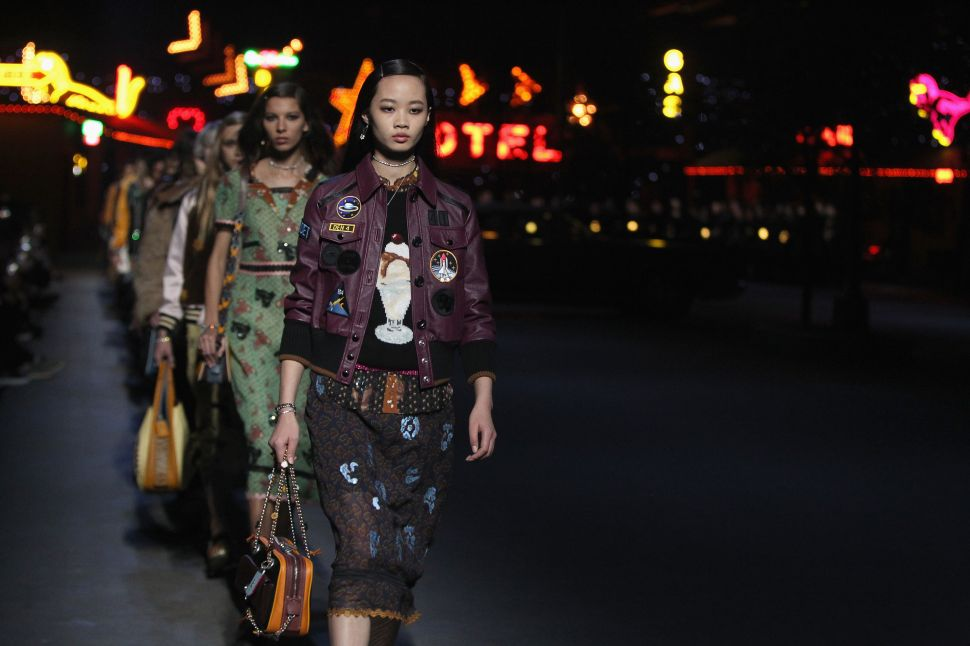 Coach's Pre-Fall Runway Show Proved That They're Cool Again