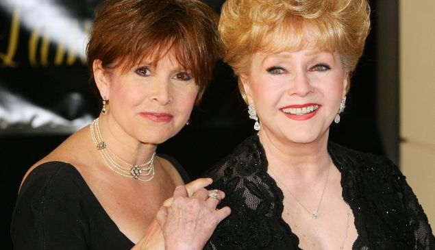 Actress Carrie Fisher (L) and her mother, actress Debbie Reynolds, who died within one day of each other this week.