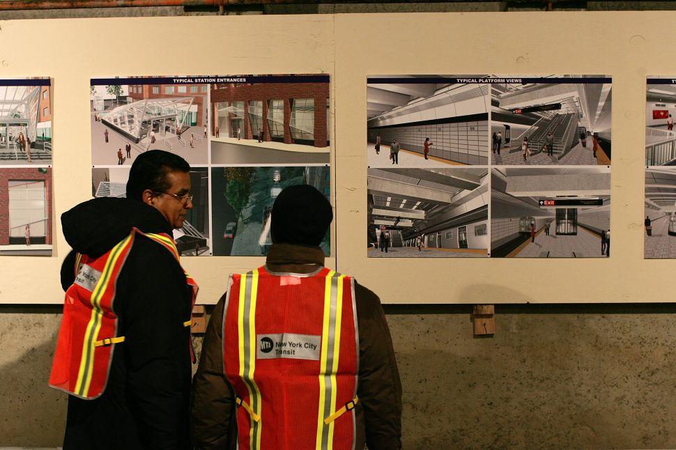 Peek the Second Avenue Subway's Public Art, Morbid Anatomy Museum Shutters