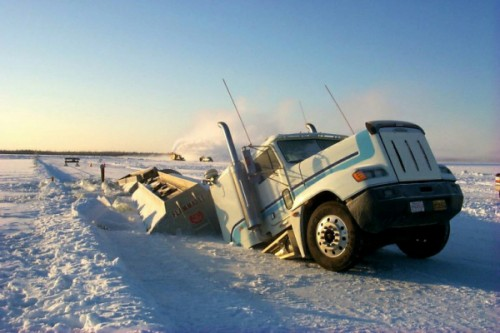 Imagined Dialogue For: History's 'Ice Road Truckers'