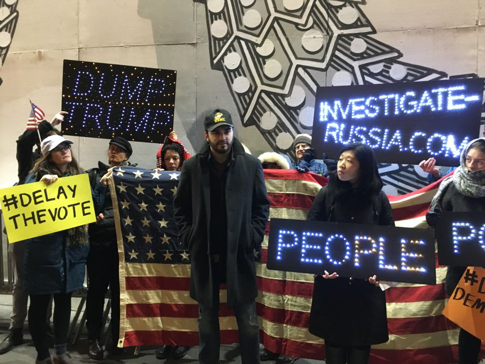 'Delay the Vote' Protest at Trump Tower Results in Clashes