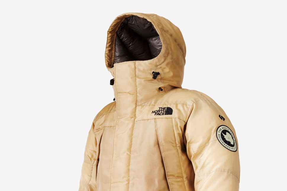 The North Face Unveils Gold-Colored Synthetic Spider Silk Jacket in New Flagship Store