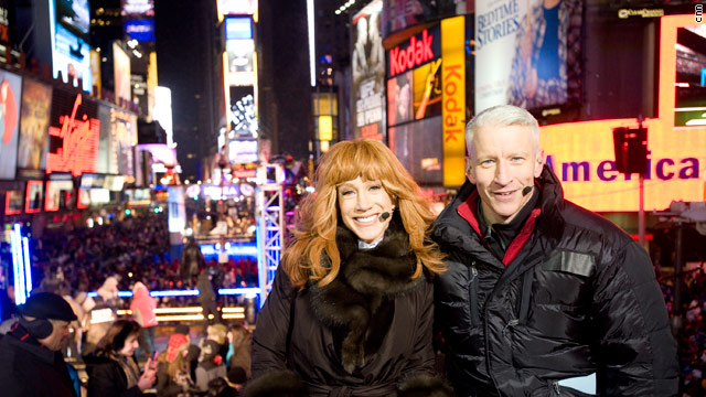 Imagined Dialogue For: 'New Year's Eve Live' with Anderson Cooper and Kathy Griffin