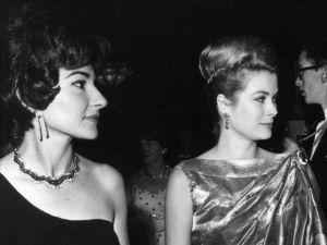 Royals: Maria Callas and Princess Grace of Monaco, 1962.