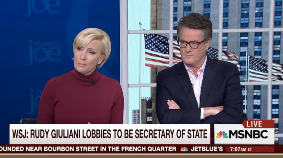 Don't You Dare Disagree With Scarborough on MSNBC