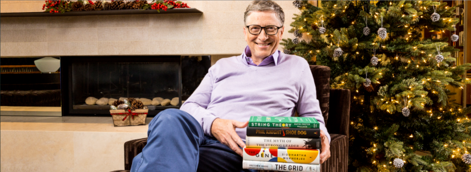 5 Books Bill Gates Read and Loved in 2016