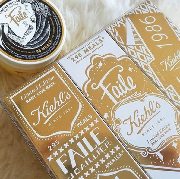 Kiehl's Is Spreading Joy With Presents And a Charitable Tie-In
