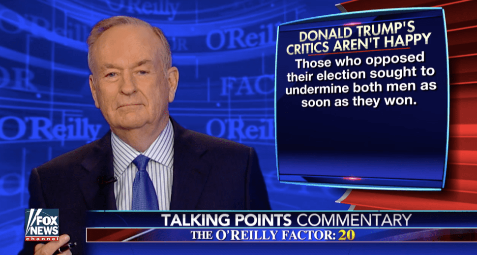 Instead of Reporting the News, Bill O'Reilly Offers a Sermon