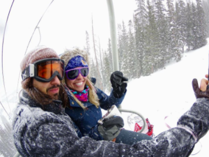Chairlift Ski Dating is definitely Colorado's answer to Tinder, only in real-time.