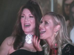 Patsy and Edina in the making on Real Housewives of Beverly Hills.
