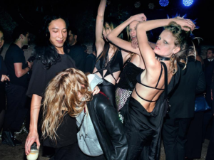 Alexander Wang threw an epic party in this four-story penthouse.