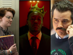 Stranger Things, Marvel's Luke Cage and Narcos.