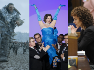 Game of Thrones, Crazy Ex-Girlfriend, and The People v O.J. Simpson: American Crime Story.