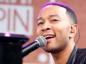John Legend performs at the AXE Collective + Crew Powered by SPIN event in Austin.