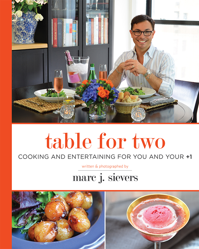 """Set the Right Tone At Your Table with Tips From Marc J. Sievers' """"Table for Two"""""""