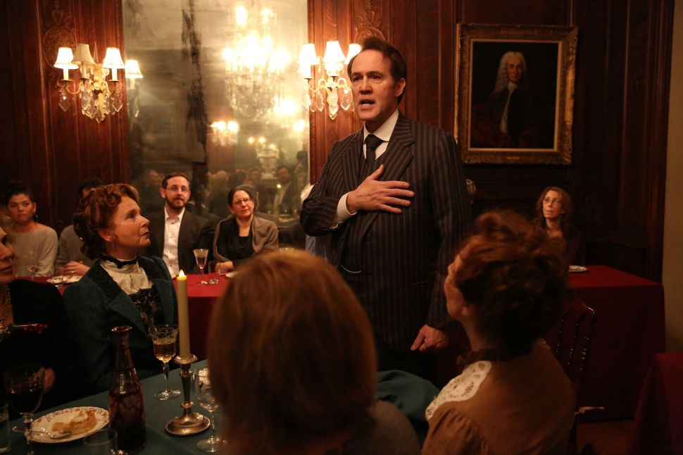 Live on Fifth Avenue: Dining With 'The Dead'
