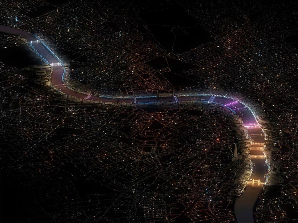 Winner Chosen to Illuminate London's Bridges, Oakland Mayor Starts Art Space Fund