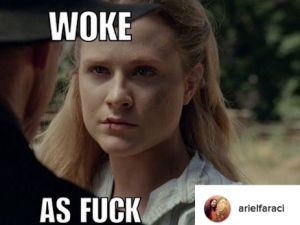 A Westworld meme, courtesy of Ariel Faraci.