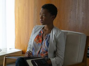 Samira Wiley as Justina.