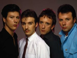Ultravox with Midge Ure (second from left).