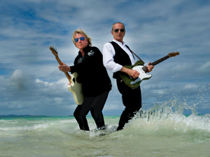 Rick Parfitt and Francis Rossi of Status Quo.