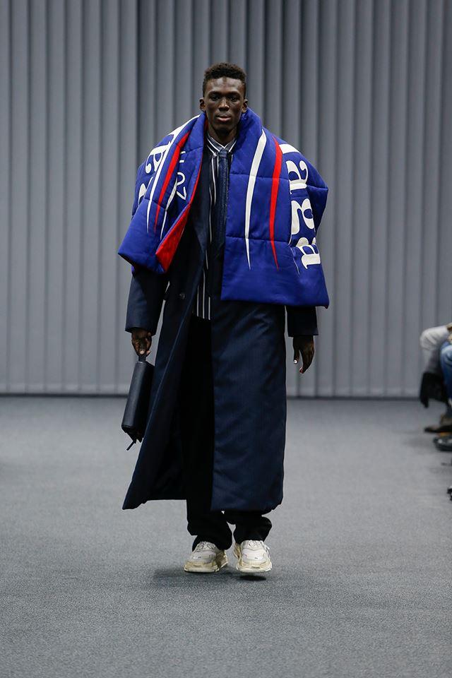 Balenciaga Was Feeling the Bern at Paris Fashion Week