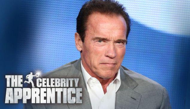 Arnold Schwarzenegger: host of The New Celebrity Apprentice.
