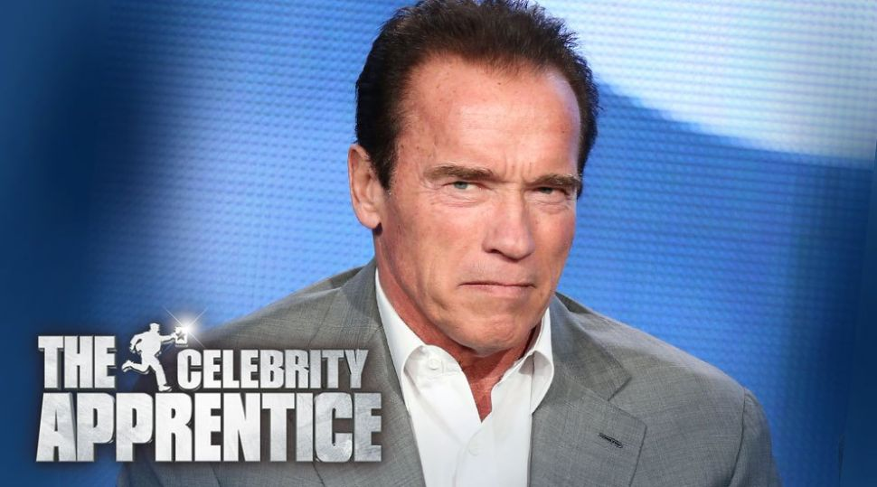 'The New Celebrity Apprentice' Host Schwarzenegger Challenges Trump to Ratings Duel