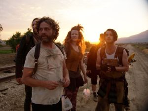 Tobias Jelinek as Morpheus, Zach Galifianakis as Chip Baskets, Mary Wiseman as Trinity, Christopher Wonder as Tank and Brett Loudermilk as Mouse.