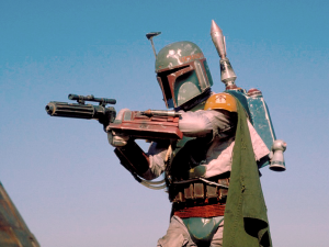 Boba Fett, less cool than he looks
