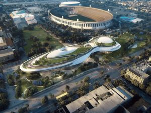 Ma Yansong and MAD Architects' proposed design for a the Lucas Museum of Narrative Art in Los Angeles.