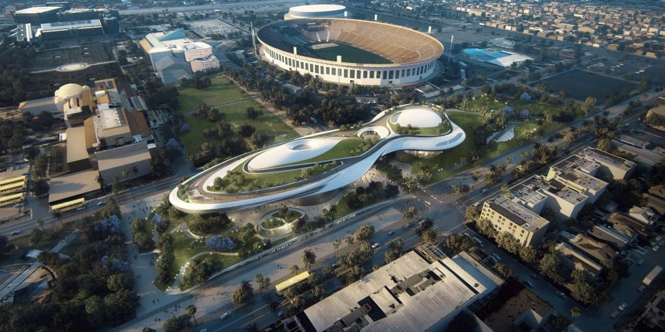 George Lucas Museum Lands in LA, Petition Proposes Christo Design Fabric Border Wall