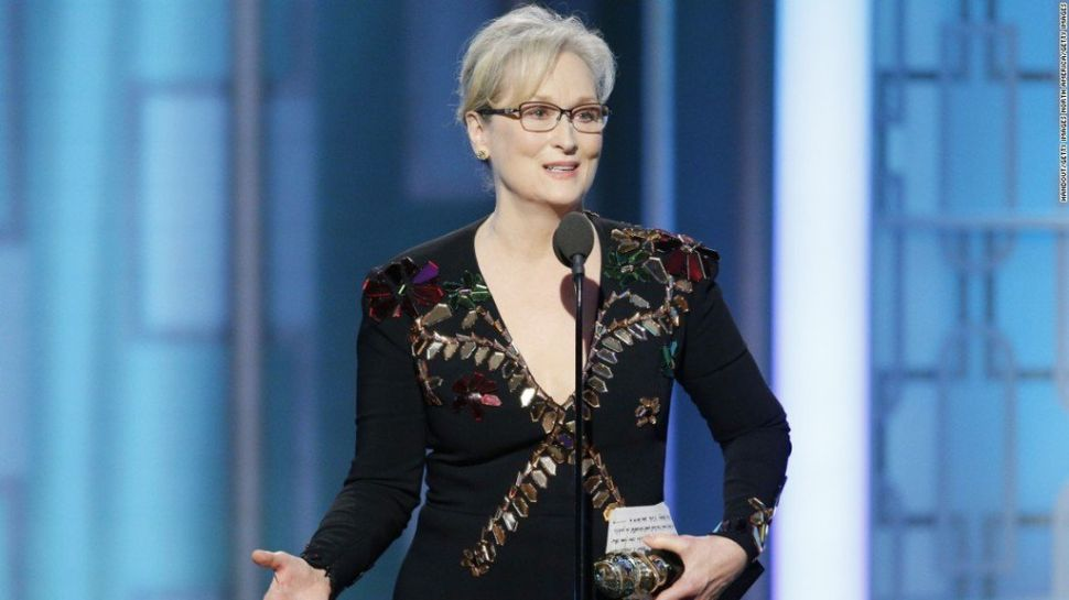 Meryl Streep and 'Hidden Fences' Dominated Golden Globes Twitter Chatter
