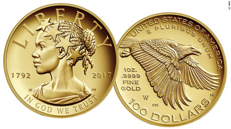 Black Lady Liberty to Appear on US Coin, How Art Can Be Used to Detect Alzheimer's