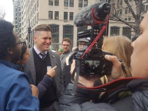 Richard Spencer is using a new funding stream.